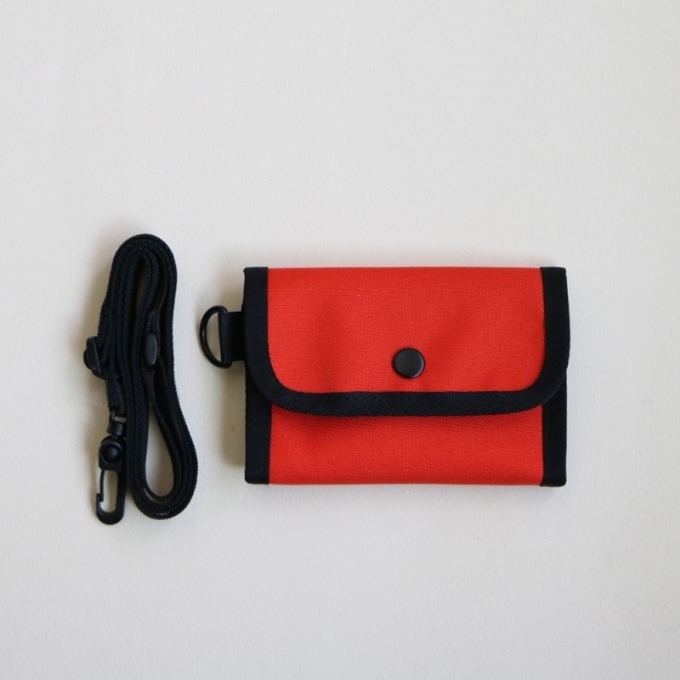 wallet  -  (red orange)