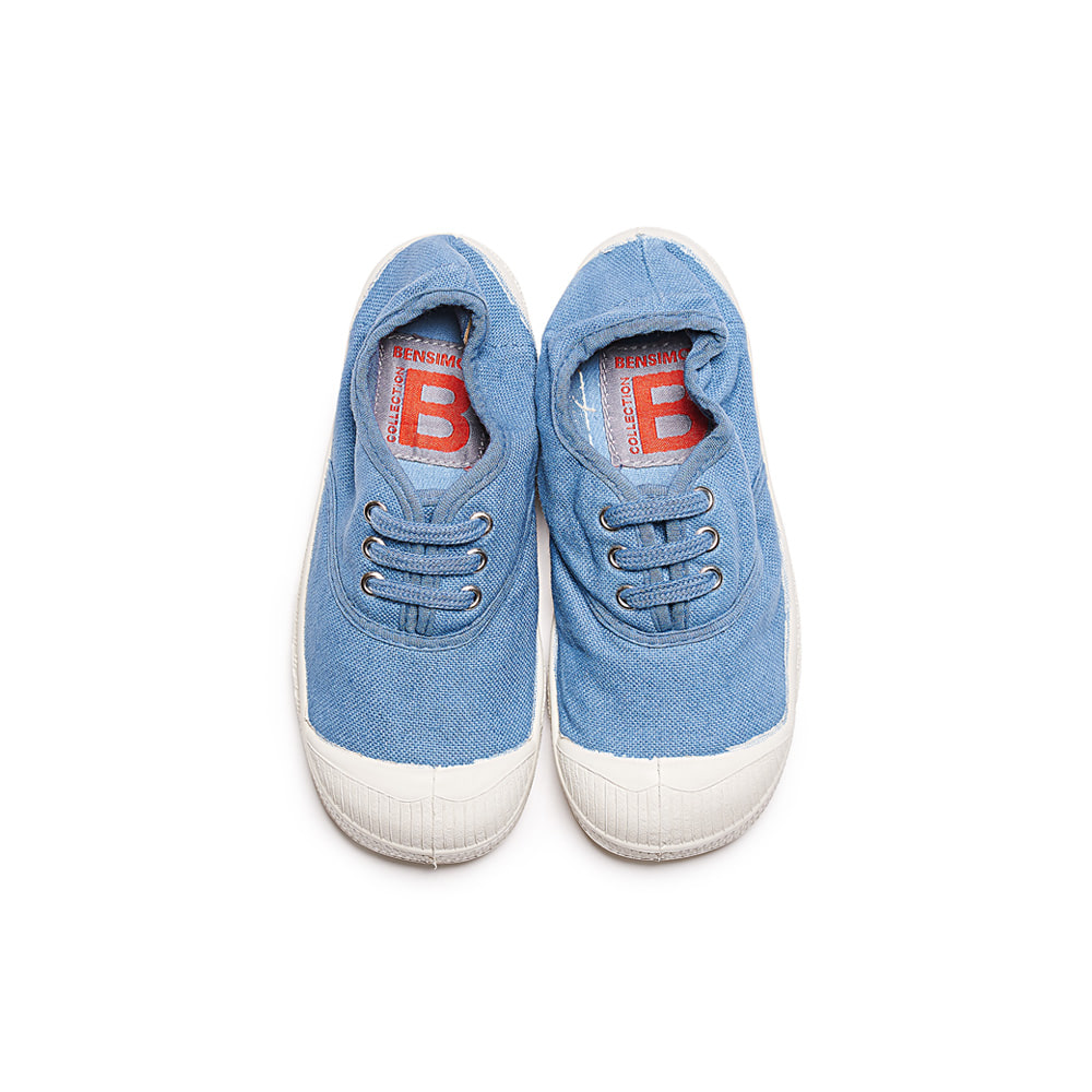 TENNIS KID LACET_DENIM
