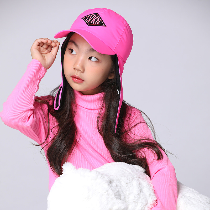 LVKN THERMAL WIINTER HAT-PINK(11/4째주 배송)