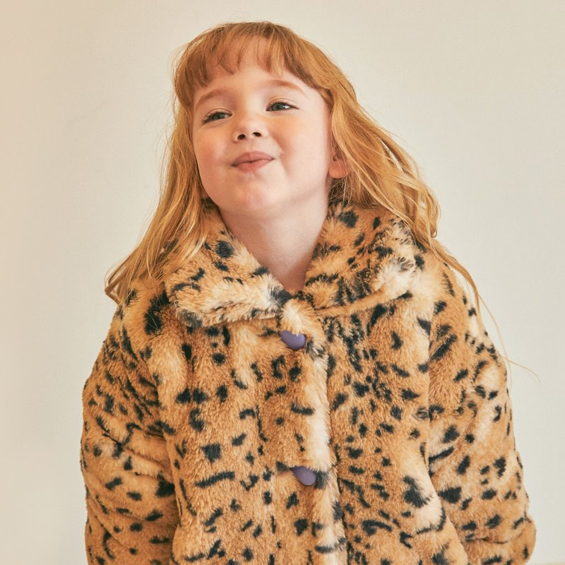 Mini Tiger Fur Coat