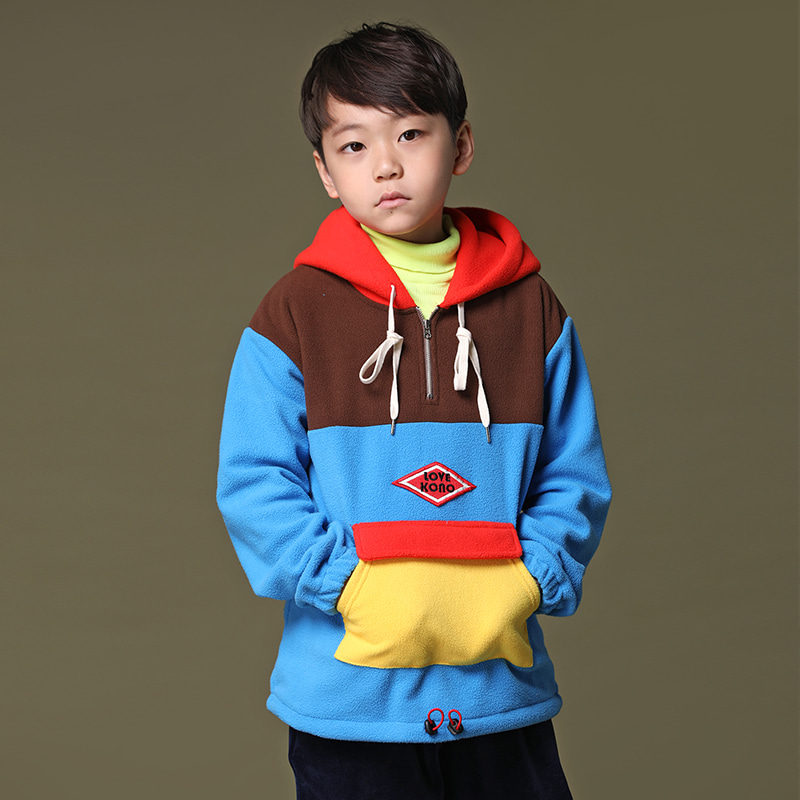 MULTI COLOR ANORAK HOODI