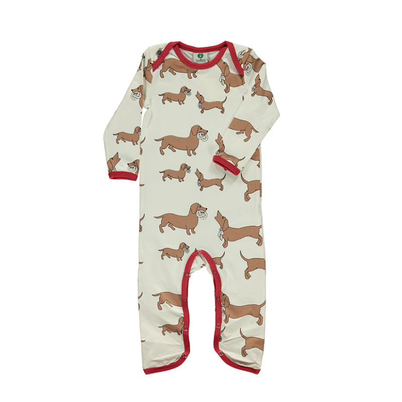Body suit with dogs Kalk