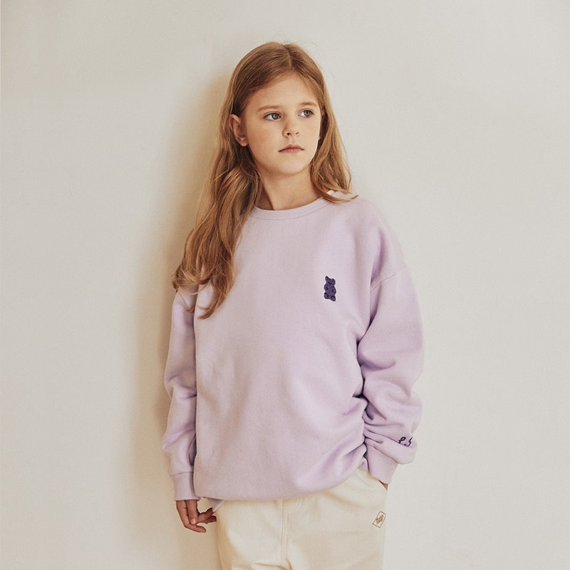 PJ Bear Jelly Sweatshirt_Lavender