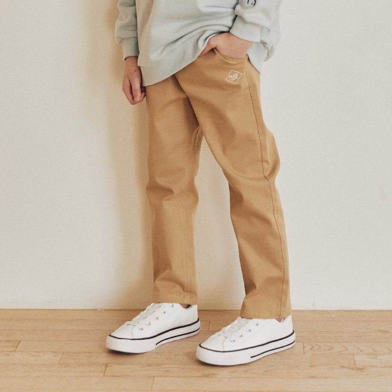 PJ Prank Cotton Pants_Beige