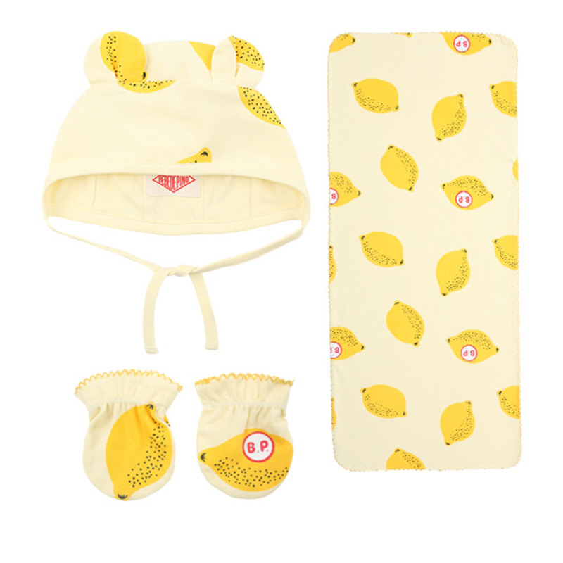 Multi lemon newborn gift set