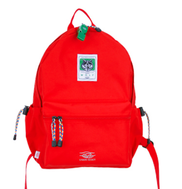 BackPack Solid Red
