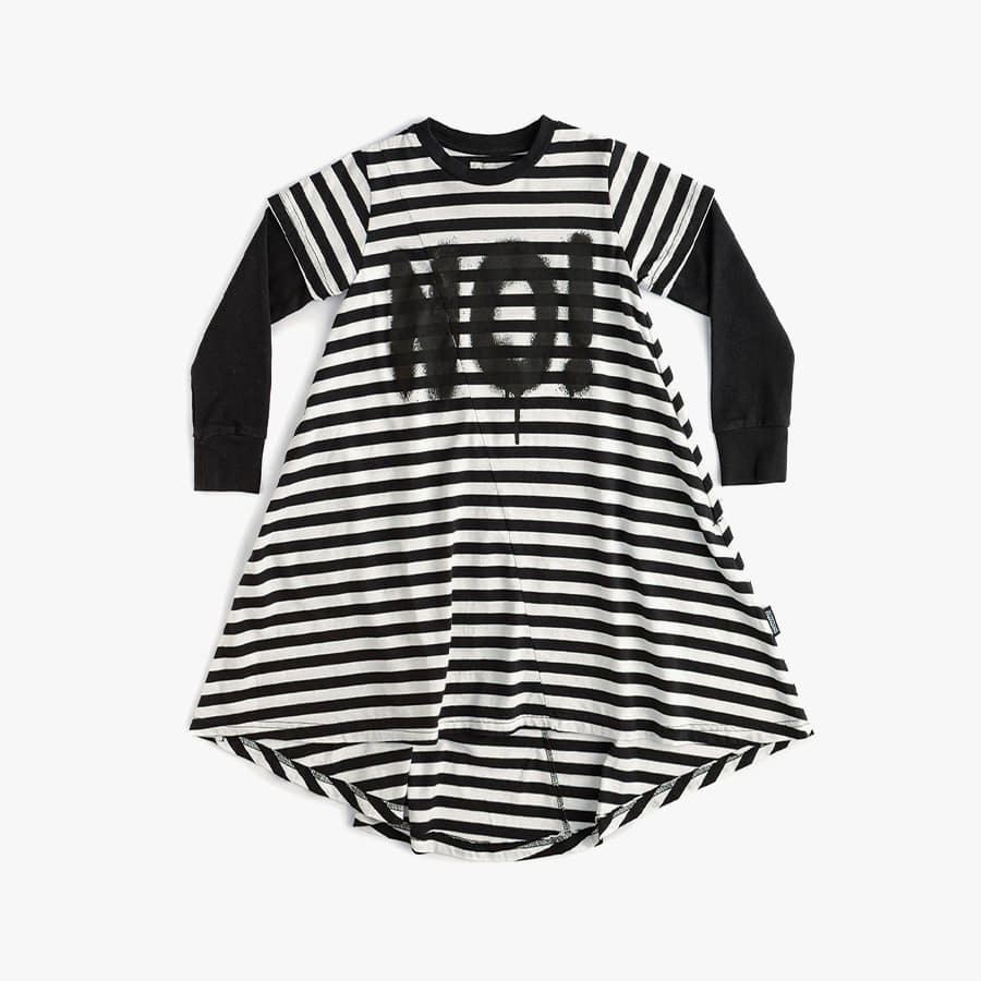 Total elements striped 360 dress (baby)