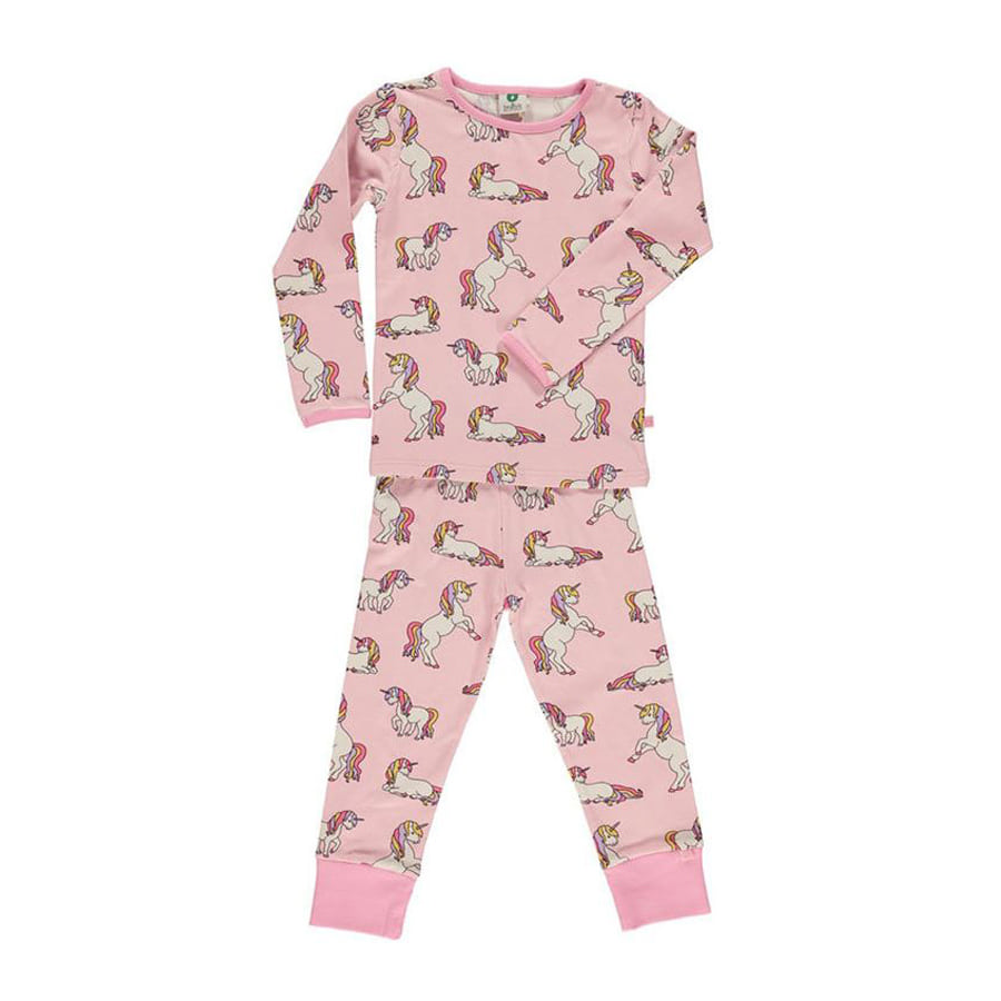 Nightwear with unicorn Coral Blush