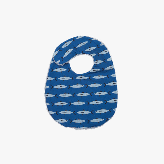 NAVY BLUE BIB