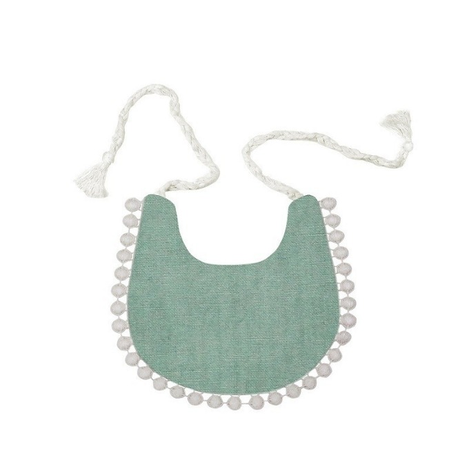 Lace bib (Mint)