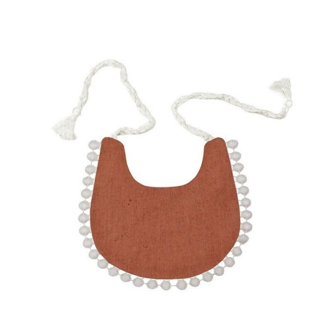Lace bib (Orange)
