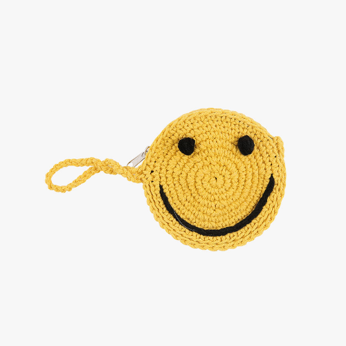 smile coin purse large