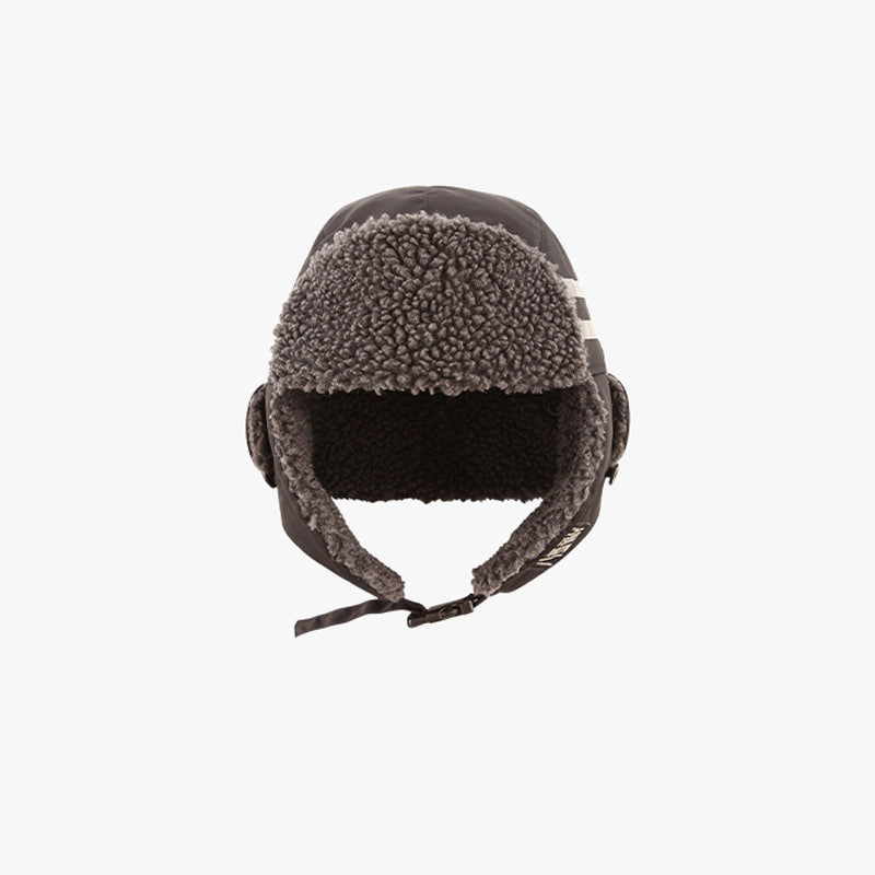 Icebiscuit reflective point trapper hat