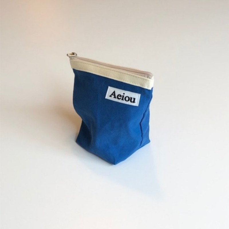 A.B.P / Aeiou Basic Pouch (M size)Blue Lake