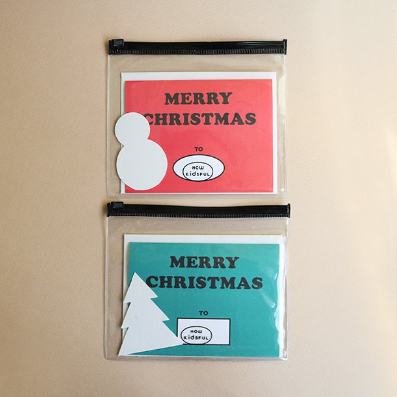DIY CHRISTMAS CARD (RED/GREEN)