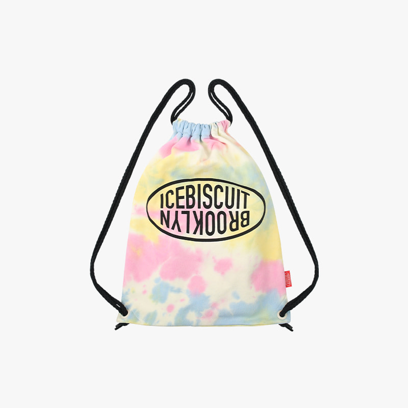 Icebiscuit tie-dye sweat back pack