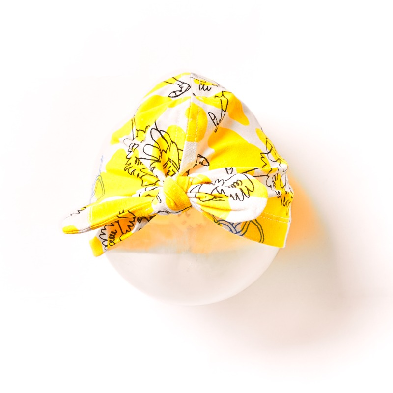Baby Turban _Yellow