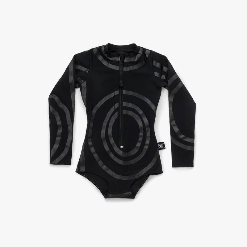 Circle long sleeved swimsuit (Baby)