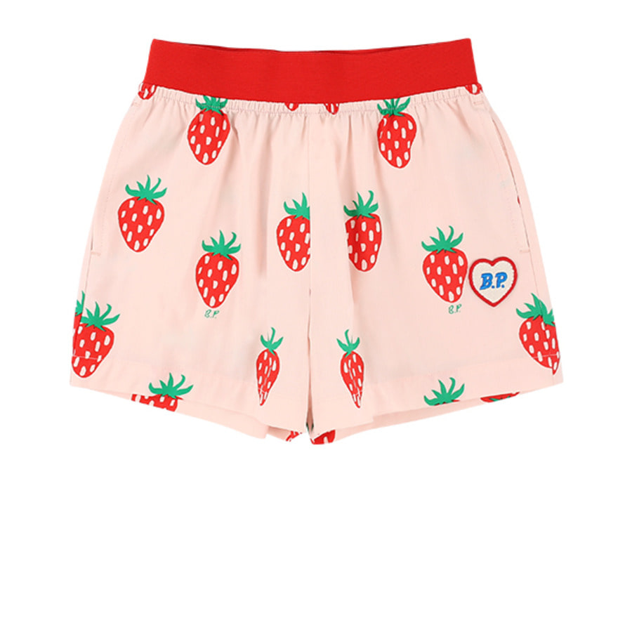 All over strawberry shorts