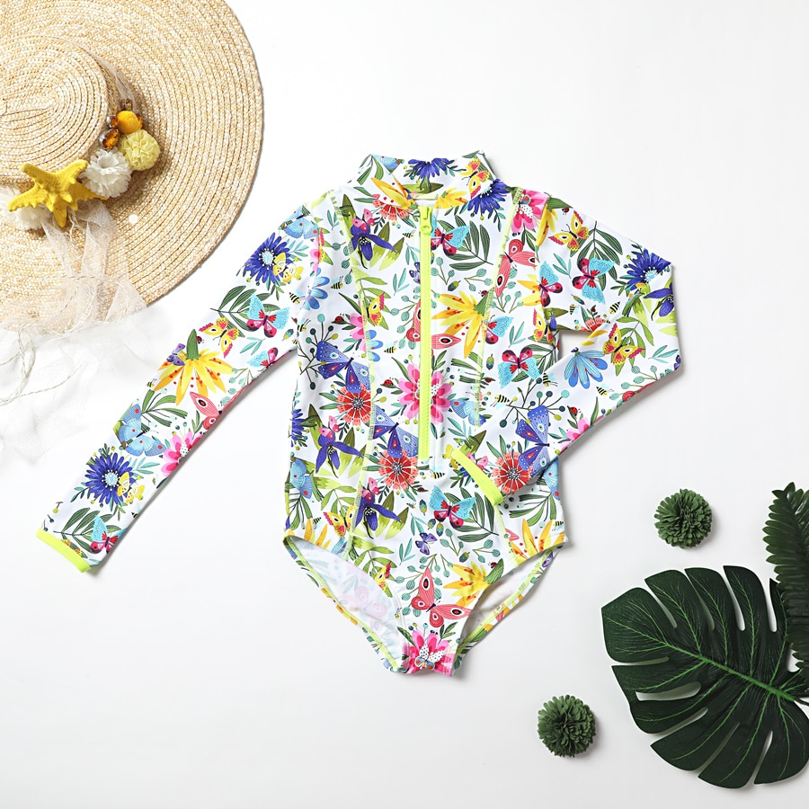BUTTERFLY ALL IN ONE SWIMSUIT