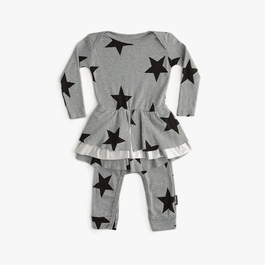 Star playsuit (new born)
