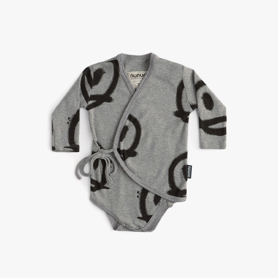 Sprayed smiles envelope onesie (new born)