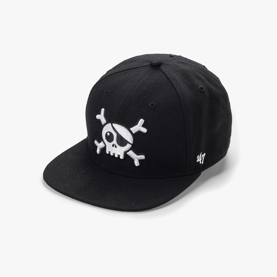 Skull baseball hat (kids)