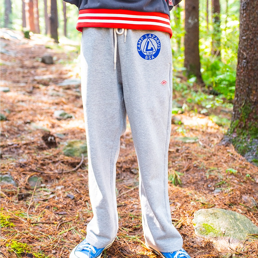 SWEAT STRAIGHT FIT PANTS - CAMP LAZARUS