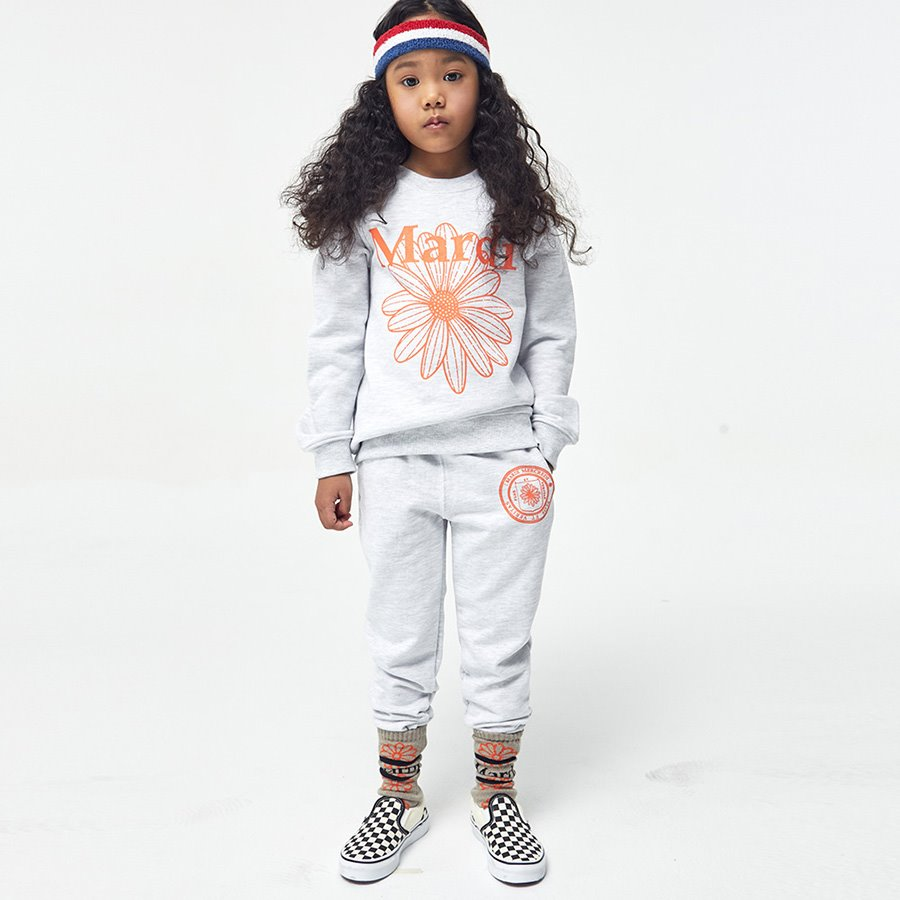 캐리마켓 -  KIDS-PANTS-UNIV LOGO-HEATHER