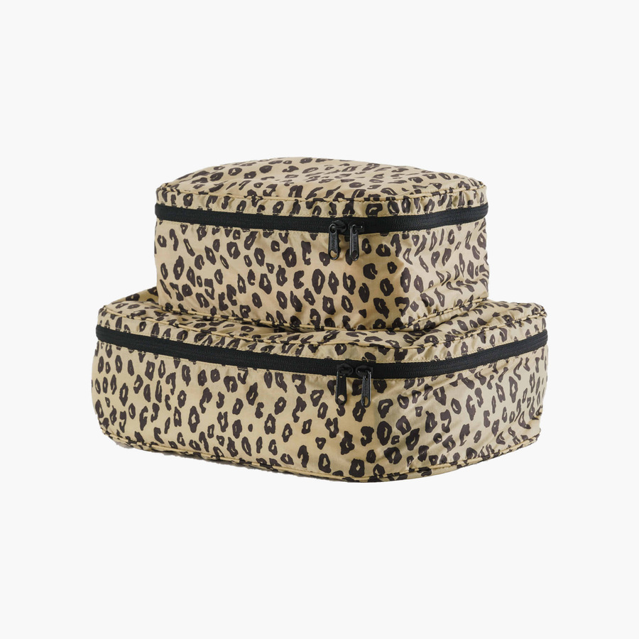 캐리마켓 -  Storage Cube Set HONEY LEOPARD