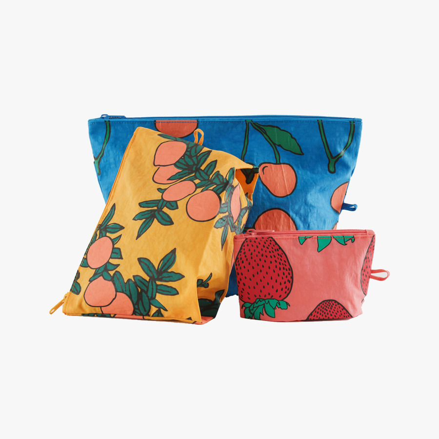 캐리마켓 -  Go Pouch Set BACKYARD FRUIT