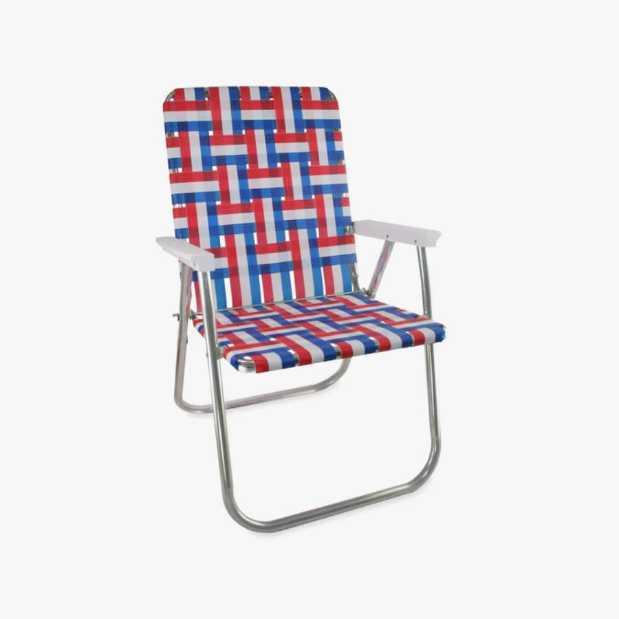 캐리마켓 -  (Classic) Old Glory Classic Chair with White Arms