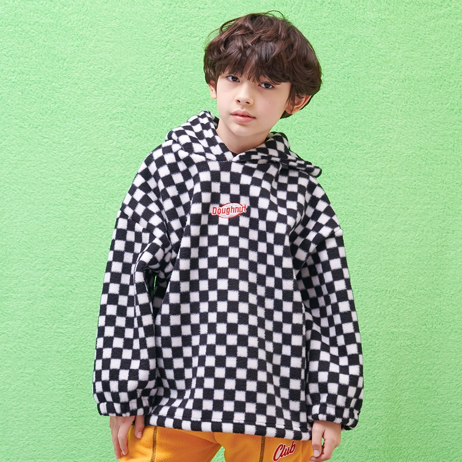 캐리마켓 -  CHECKER BOARD HOODY